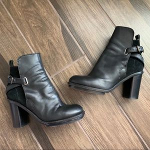 Acne Studios Cypress Black Ankle Boots Leather 10